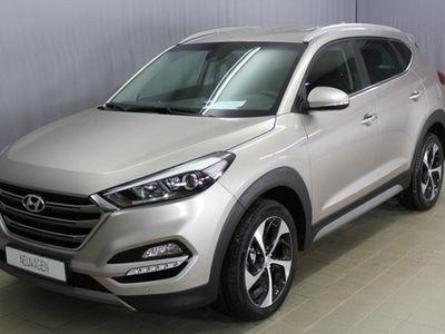 gebraucht Hyundai Tucson Style 1,6 T GDI 4WD 177PS, Navigation, Apple Ca...