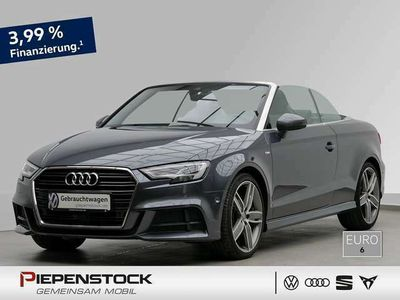 gebraucht Audi A3 Cabriolet 2.0 TDI S-tronic sport ACC+LED+PDC