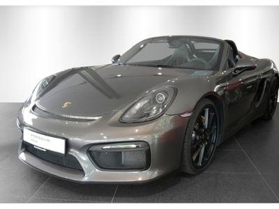 gebraucht Porsche Boxster Spyder PCCB Klima Kamera Tel Alarm Sitzheizung
