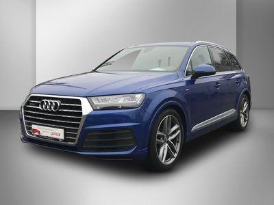 gebraucht Audi Q7 3.0 TDI tiptronic quattro S-line Sportpaket Nav