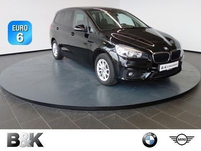 gebraucht BMW 216 Gran Tourer d Advantage Bluetooth Navi Klima