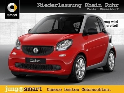 gebraucht Smart ForTwo Coupé 52kW passion DCT cool&Audio Komfort