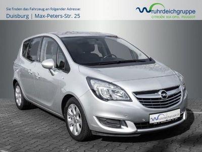 gebraucht Opel Meriva B Innovation 1.4 T +TEILLEDER+NAVI+PDC+BT