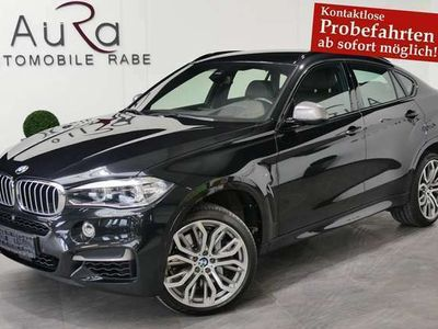 gebraucht BMW X6 M 50d NAV+LED+HEAD-UP+ACC+H&K+20ZO+KAMERA+EU6
