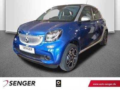 gebraucht Smart ForFour 66kW prime Cool&Audio Panoramadach Sitzh