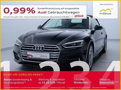 gebraucht Audi A5 Cabriolet 40 TDI Sport S-TRO*SLINE*LED*NAV*GRA