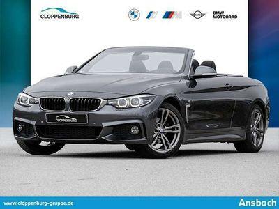 gebraucht BMW 420 i Cabrio M Sportpaket HK HiFi DAB RFK USB -