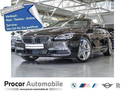 gebraucht BMW 640 Cabriolet d xDrive Komfortsitze,19'',HeadUp,TOP!!