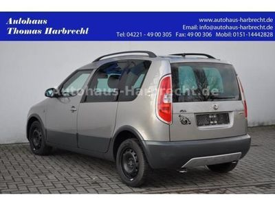 gebraucht Skoda Roomster 1.6 Scout Plus Edition LPG Panorama