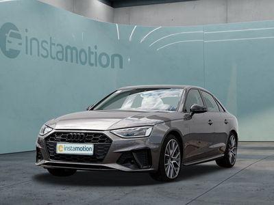 gebraucht Audi A4 A4Lim. 40 TDI Q S LINE EDITION ONE LEDER LM19 MATRIX STDHZG