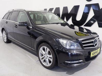 gebraucht Mercedes C220 T CDI Avantgarde +Leder +Xenon +AHK +PTS