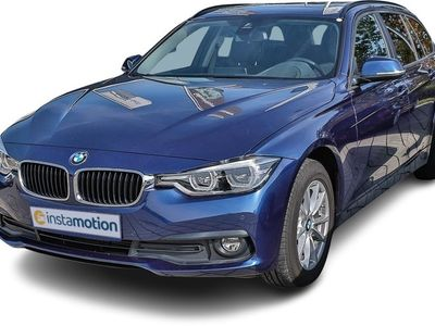 gebraucht BMW 318 318 d Touring Steptronic LED RFK PDC HuD PANO