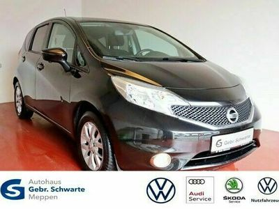 gebraucht Nissan Note 1.2 TSI Acenta Pure Drive Navi+GRA