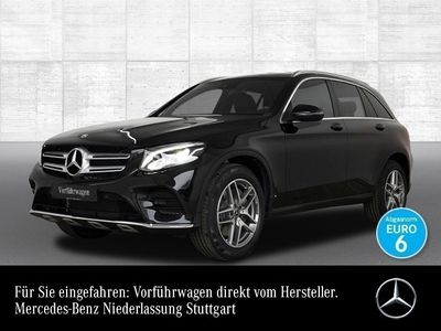 gebraucht Mercedes GLC250 4M AMG Park Navi AHK Spiegel LED Sitzh.