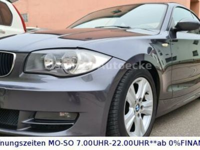 gebraucht BMW 120 Coupé Baureihe 1 120d#Aus 2.Hand#Scheckheft lück