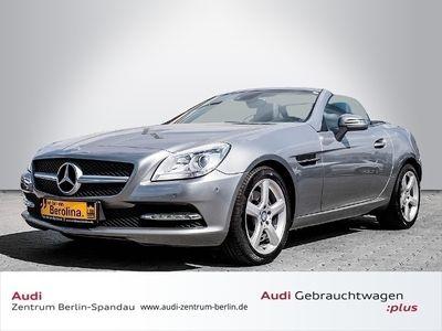 gebraucht Mercedes SLK250 Roadster BlueEffic. 7G-Tronic *PANO*NAVI*