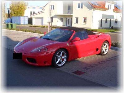 gebraucht Ferrari 360 Spider F1 Orig 17350 km 2 Hand Navi Capristo