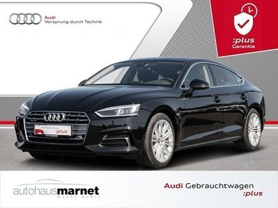 gebraucht Audi A5 Sportback Sport 40 TDI quattro Navi LED Alu Ahk Ei