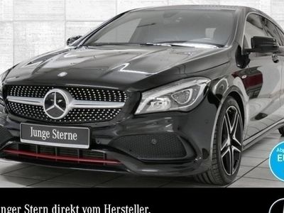 gebraucht Mercedes CLA250 Shooting Brake 4M AMG LED Navi Totwinkel PTS Sitzh