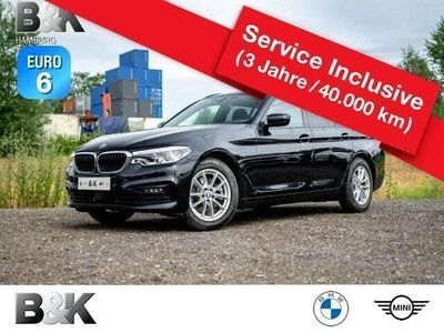 gebraucht BMW 520 dA xDrive T Sport NaviP, St+Go, Lea.o.Anz.379, -