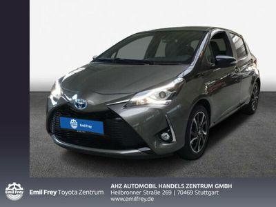 gebraucht Toyota Yaris Hybrid 1.5 VVT-i Style Selection / Navi / Plus-Paket