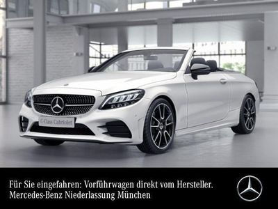 gebraucht Mercedes C200 Cab. AMG Sportpak LED Night Airscarf Kamera