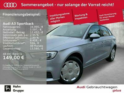 gebraucht Audi A3 Sportback 2.0 TDI 110 kW (150 PS) S tronic