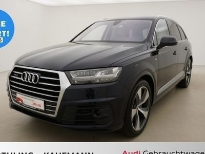 gebraucht Audi Q7 3.0 TDI qu tiptro 2x SLine 200kW*Tour*Matrix* Aluoptik memory MMI Navi plus el. Sitze