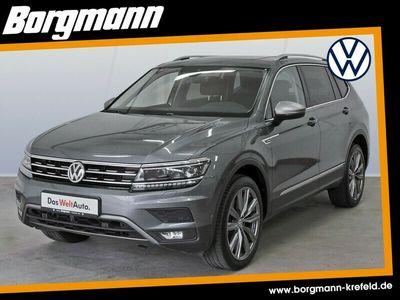 gebraucht VW Tiguan Allspace I Neu 2.0TDI HIGHLINENaviPanorama KLIMA LED ALU