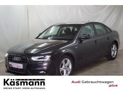 gebraucht Audi A4 Limousine Ambition 2.0 TDI clean diesel 110 kW (150 PS) multitronic