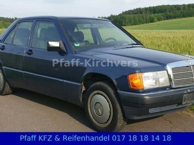 used Mercedes 190 1,8L. 5Gang