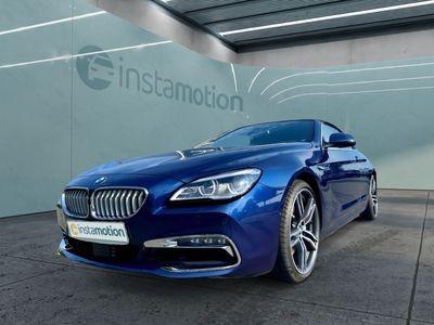 gebraucht BMW 650 Cabriolet 650 i xDrive Leder LED Navi Kurvenlicht Massagesitze Klimasitze PDC SHZ Rόckfahrkam.