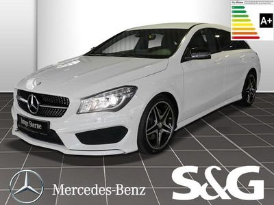 gebraucht Mercedes CLA220 Shooting Brake d AMG-LINE Rü.Kam./Navi/