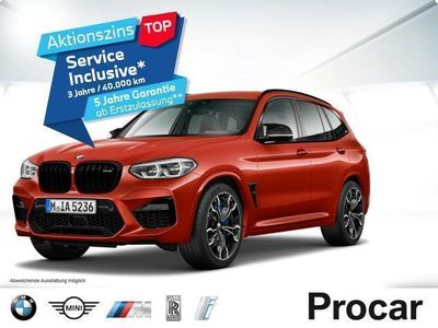 gebraucht BMW X3 M COMPETITION M Driver''s Package AHK PA+ HuD