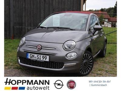gebraucht Fiat 500C Cabrio Lounge, Klimaanlage, 5'' Radio, City- Paket, uvm ...