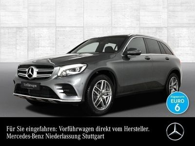 gebraucht Mercedes GLC250 4M AMG 360° Pano Sportpak ILS LED AHK PTS