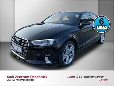 gebraucht Audi A3 Limousine 2.0 TDI sport AHK Navi Xenon APS-Plus