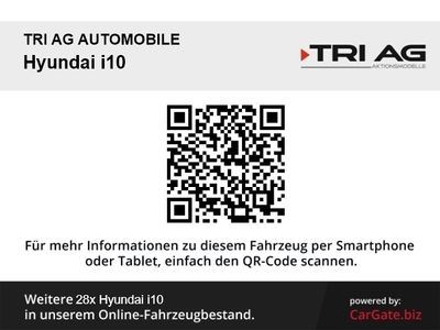 gebraucht Hyundai i10 Select RDC Alarm Klima AUX USB MP3 ESP Seitenairb. BC Scheckheft