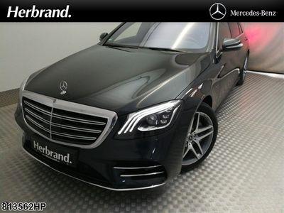 gebraucht Mercedes S560 L e AMG+BURMESTER+FAHRASSISTENZ+COMAND