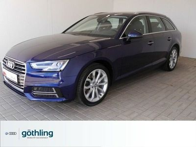 gebraucht Audi A4 Avant design 35TFSI Navi LED-Scheinwerfer el. S