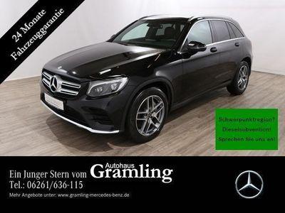 gebraucht Mercedes GLC350 d 4M AMG COMAND*Pano*Kamera*AHK*Totwinke