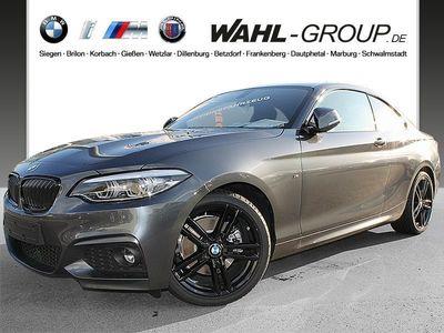 gebraucht BMW 220 i Coupé M Sportpaket HiFi LED WLAN Tempomat