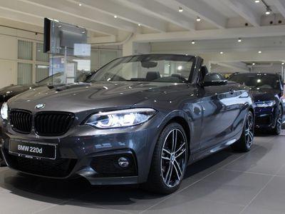 gebraucht BMW 220 d Cabrio M Sportpaket HK HiFi DAB LED RFK