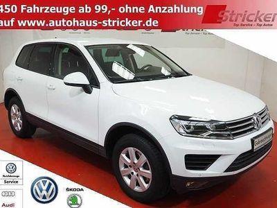 gebraucht VW Touareg 3.0TDI 299,-ohne Anzahlung Navi Xenon