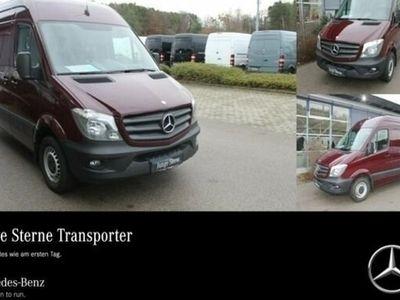 gebraucht Mercedes Sprinter 316 CDI Kasten+Klima+3 Sitze+AHK 3,5 t