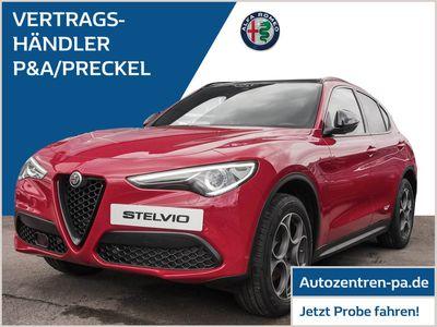 gebraucht Alfa Romeo Stelvio B-Tech 2.0 AT8-Q4 /Schiebedach/Veloce-P.