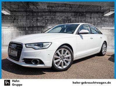 gebraucht Audi A6 Limousine 3,0TDI qu Navi Leder Luft HUD Standhz Xenon