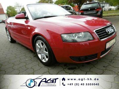 gebraucht Audi A4 Cabriolet 3.0 Aut. Ledersportsitze Xenon Bose