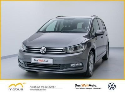 gebraucht VW Touran 1.6 TDI DSG Comfortline +GRA+7SITZER+PDC+