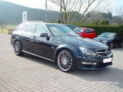 gebraucht Mercedes C63 AMG AMG T Drivers+Performance Paket VOLL